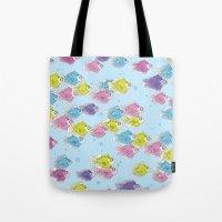 school Tote Bags featuring School by Rebel June