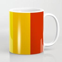 Multicolor Retro Stripes Coffee Mug
