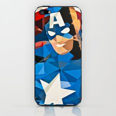 Geometric Superhero iPhone & iPod Skin
