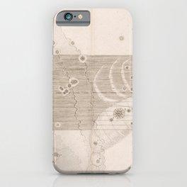 Johann Bayer - Uranometria / Measuring the Heavens (1661) - 27 Scorpio iPhone Case