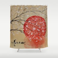 japan Shower Curtains featuring Japan by Japan Art