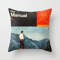 The Manual Throw Pillow