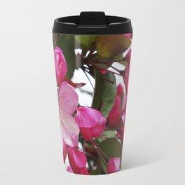 Spring blossoms - Strawberry Parfait Crabapple Travel Mug