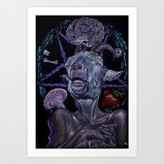 Something Satanic Art Print