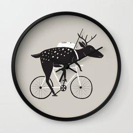 Dear Cyclist Wall Clock
