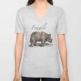 Fragile Unisex V-Neck