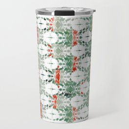 estrela_turqouise&red_no2 Travel Mug