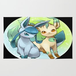 Leafeon & Glaceon Rug