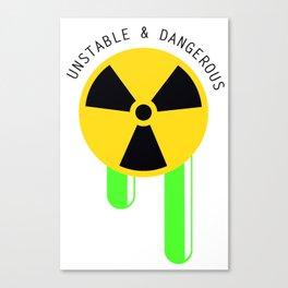 Radioactive Canvas Print