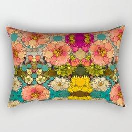 Perky Flowers! Rectangular Pillow