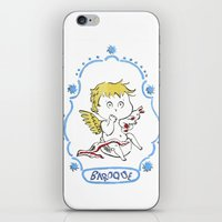 baroque iPhone & iPod Skins featuring BAROQUE by Vicky Kuhn