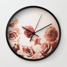 Falling Flower Variation II Wall Clock