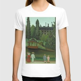 "Henri Rousseau ""View of Montsouris Park, the Kiosk"" T-shirt"