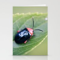 beetle Stationery Cards featuring Beetle by BURNEDINTOMYHE∆RT♥