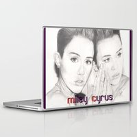 miley Laptop & iPad Skins featuring miley vs. miley by als3