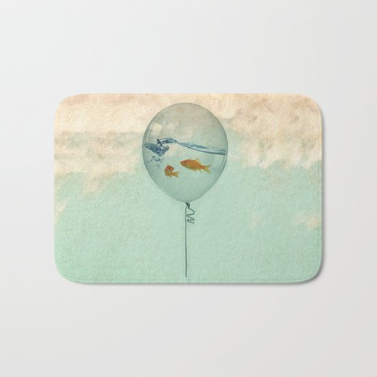 BALLOON FISH Bath Mat