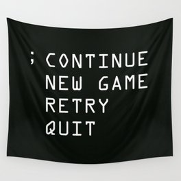 Continue Wall Tapestry