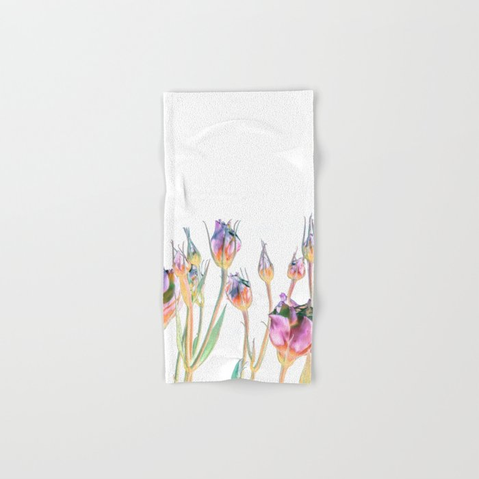 Fantasy Florals #society6 #decor #buyart Hand & Bath Towel