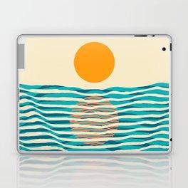 Ocean current Laptop & iPad Skin