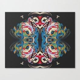 Cuentos de amor de locura y de muerte / 004 Canvas Print