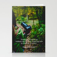 photographer Stationery Cards featuring Photographer by Jo Bekah Photography