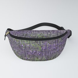 Lavender Hues Abstract Fanny Pack