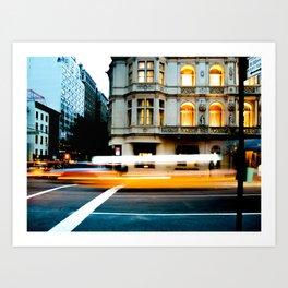 New York Taaaaaaaaxi!!! Art Print