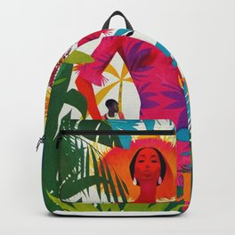 Vintage Caribbean Travel - Cuba Backpack