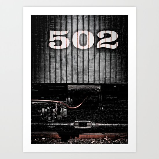 502 Art Print