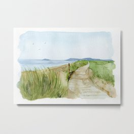 Inverness Beach Metal Print