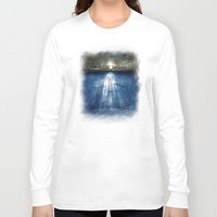 dolphins Long Sleeve T-shirts featuring dolphins, civilization. by Viviana Gonzalez