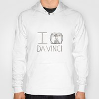 da vinci Hoodies featuring Da Vinci by Normandie Illustration