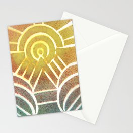 Drawing Meditation: Stencil 2 - Print 2 Stationery Cards