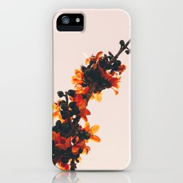 Sunset bouquet iPhone Case