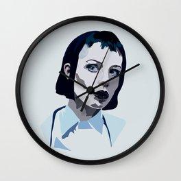 Alice Glass Wall Clock