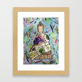 The Colourful Buddha Framed Art Print
