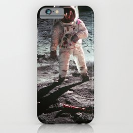 Moon landing 4 iPhone Case