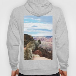 Squirrel Overlooking Grand Canyon Hoody