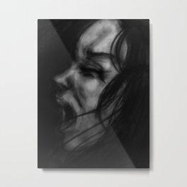 Screaming Metal Print