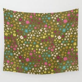 Modern Flower Child Wall Tapestry
