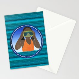 Island Girl Stationery Cards