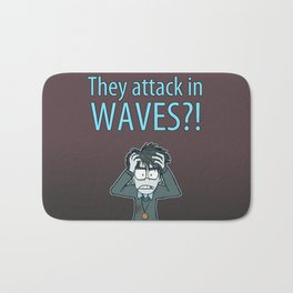 Guardian Ghost- THEY COME IN WAVES Bath Mat