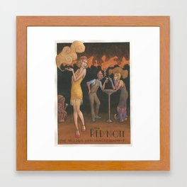 The Red Note Framed Art Print