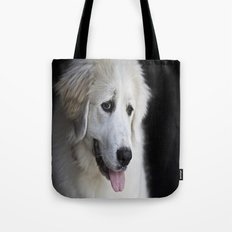 Great Pyrenees -Forest- Tote Bag