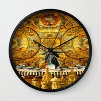 russia Wall Clocks featuring HISTORICAL RUSSIA by sametsevincer