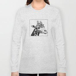 The Giraffe Long Sleeve T-shirt