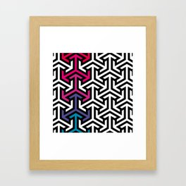 arrow_six Framed Art Print