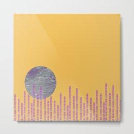 Moon Over the City 3 Metal Print