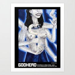 GODHEAD Art Print