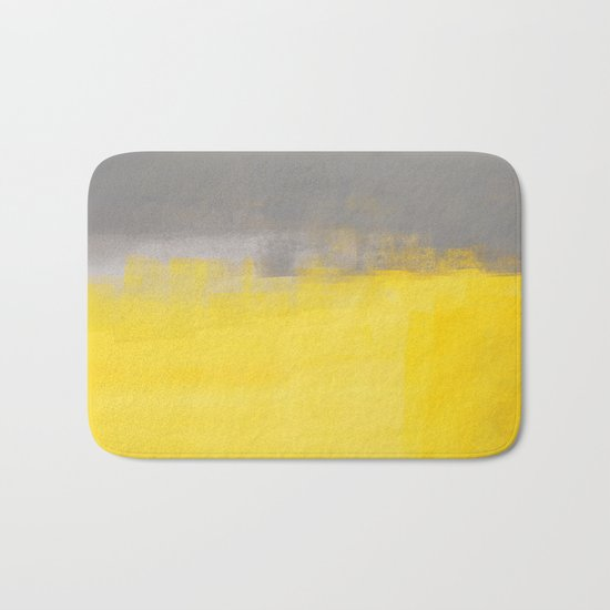 A Simple Abstract Bath Mat